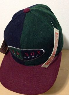 Boston Red Sox Headgear American Needle Vintage Leather Strapback Baseball Cap Hat on Etsy, $65.00