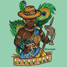 Orishas Cuba, Yoruba Orishas, Afro Art, People Art, Gods And Goddesses, Black Is Beautiful, Black Art, Black History, Color Inspiration