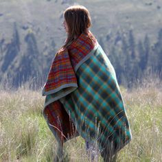 Your new favorite blanket. Two layers of super quality flannel finished with an extra-wide, handmade flannel binding. Perfect for tossing over kids in the car, camping, wrapping in after a jump in the