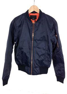 mandy bomber jacket (navy blue)