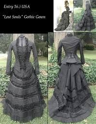 Image result for gothic dress patterns