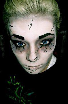 #Halloween Makeup- I like this - looks easy