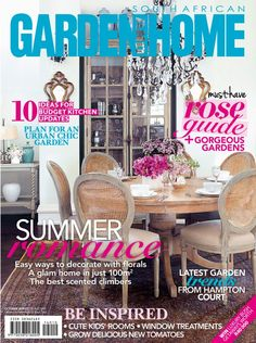 South African Garden and Home October 2014 edition - Read the digital edition by Magzter on your iPad, iPhone, Android, Tablet Devices, Windows 8, PC, Mac and the Web.