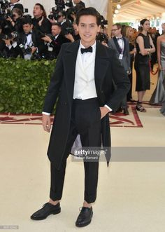 Cole Sprouse at the Met Gala is all we need to complete our existence.