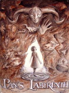 Pan's Labyrinth.  This is a terrific movie, quite scary, and definitely NOT for kids!