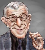 George Burns by adavis57