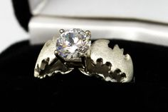 Superhero Inspired Engagement Ring from Etsy shop WhatsYourPassion.