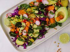 Σαλάτα του σεφ Chimichurri, Avocado Toast, Cobb Salad, Salads, Breakfast, Food, Morning Coffee, Eten, Salad