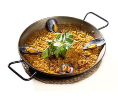 CookinArt Paella de Mejillones.