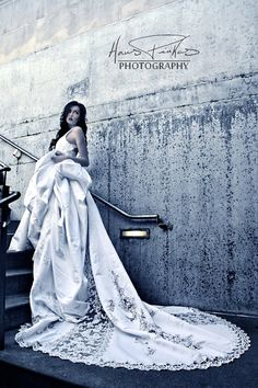 Custom ecofriendly wedding dress stunning gorgeous by KmsCouture, $5000.00