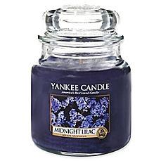 image of Yankee Candle® Midnight Lilac Medium Jar Candle