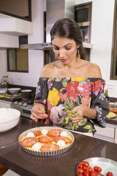 Patrícia Poeta mostra como fazer uma pizza 'low carb' que ajuda a manter a boa forma com saúde | Bastidores | gshow