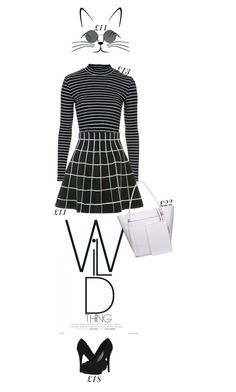 """Wild at £75"" by hevsyblue2 ❤ liked on Polyvore featuring Topshop and Michael Antonio"
