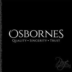 Logo design for Osbornes Funeral Directors, Rotorua, New Zealand