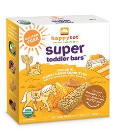 Look what I found on #zulily! Honey Grain Sunbutter Super Toddler Bars - Set of Six #zulilyfinds