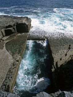 The Worm Hole, Inishmore, Aran Islands, Co. Galway