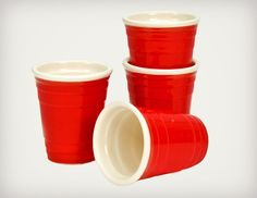 Red Cup Shot Glasses | Cool Material
