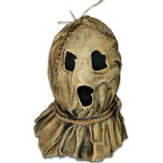 """Here Is The First Officially Licensed Bubba The Scarecrow Mask From The Cbs Television Cult Classic, """"Dark Night Of The Scarecrow"""". The Officially Licensed Mask Was Sculpted By The Incredible Erich Lubatti, Who Molded The Mask From Actual Burlap Sacks To Latex Halloween Masks, Halloween Costume Accessories, Halloween Kostüm, Halloween Costumes, Halloween Makeup, Crazy Costumes, Vintage Halloween, Scarecrow Mask, Scarecrow Costume"""