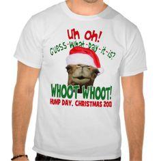 The Original Christmas Hump Day Camel Santa Shirt