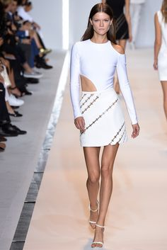 Mugler Spring 2015 Ready-to-Wear - Collection - Gallery - Look 1 - Style.com