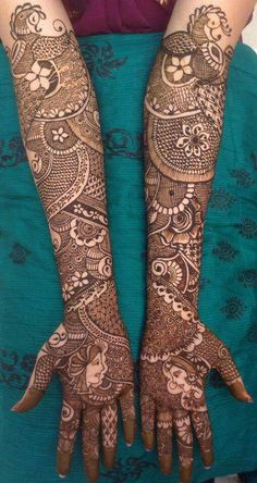 50 Most beautiful Full Hand Mehndi Design (Full Hand Henna Design) that you can apply on your Beautiful Hands and Body in daily life. Full Hand Mehndi Designs, Mehndi Design Pictures, Wedding Mehndi Designs, Mehndi Art Designs, Mehndi Images, Tattoo Designs, Mehendi, Dulhan Mehndi Designs, Henna Mehndi