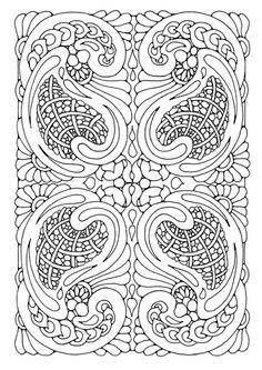 Awesome celtic dragon coloring page  Dibujos colorear dificiles