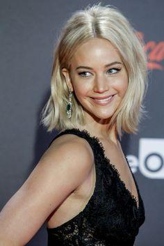 Jennifer Lawrence at the The Hunger Games: Mockingjay Pt. 2 world press tour