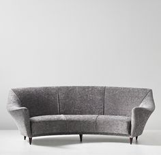 Ico Parisi; Stained Wood Sofa for Ariberto Colombo, c1949.