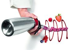 iSi Gourmet Whip with decorating tips