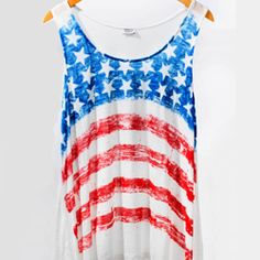 Red White & Blue......Cute Tank Top