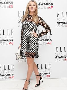 Pregnant star radiates beauty at Elle Style Awards 2015