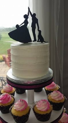 wedding cake toppers barrie cake topper wedding ivory groom black lab choose 26388