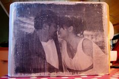 Fotos auf Holz drucken