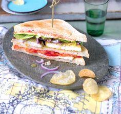 ESSEN & TRINKEN - Tofu-Club-Sandwich Rezept