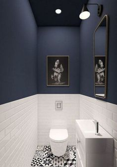 Amazing Bathroom Shower Remodel Ideas On A Budget Small Bathroom Tiles, Modern Bathroom Decor, Bathroom Design Small, Bathroom Flooring, Bathroom Ideas, Wainscoting Bathroom, Master Bathroom, Bathroom Cabinets, Bathroom Mirrors