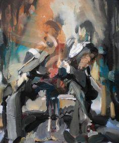 "Saatchi Art Artist Anna McNeil; Painting, ""Hip"" #art"