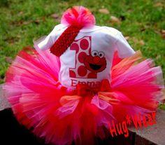 Elmo birthday outfit birthday-parties