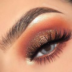 49 Best Burnt Orange Eyeshadow Looks Images In 2019 Beauty Makeup