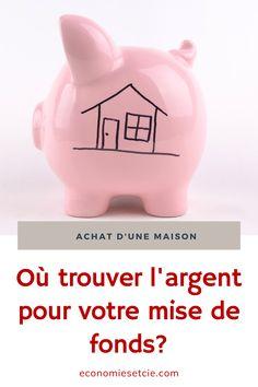Piggy Bank, Buy House, Real Estate, Money Box, Money Bank, Savings Jar