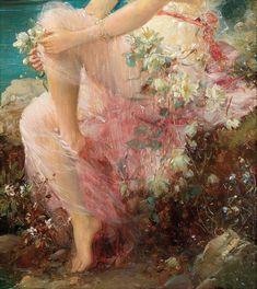 of venus goddess by sandro botticelli aesthetic Renaissance Kunst, Renaissance Paintings, Italian Renaissance, Aphrodite Aesthetic, Bel Art, Old Paintings, Classical Art, Pretty Art, Aesthetic Art