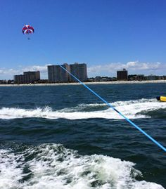 New Wave Watersports is one of many --  dedicated to making your vacation one to remember! | North Myrtle Beach | South Carolina | Parasailing | Things To Do