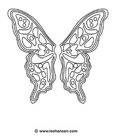 Printable fairy butterfly coloring page