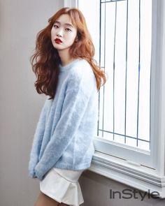 Kim Go-eun // InStyle Korea