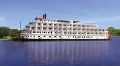 This paddle wheeler makes us wish we were cruising the Mississippi River.