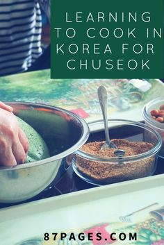 Chuseok in Seoul : My First Cooking Class - 87PAGES