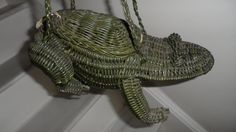 1950 wicker frog toad purse  .. has a different by FOREVERASTAR