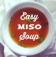 Want restaurant-style miso soup but not sure how to do it? It's so ...