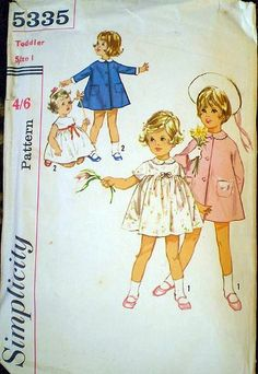 My granny used to sew my dresses with patterns just like these when I was a little girl!