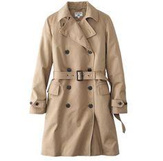 (유니클로) 트렌치코트 WOMEN IDLF TRENCH COAT                                    This trench coat features qua...