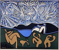 BO FRANSSON: Bacchanal Pablo Picasso - 1959